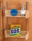 5 Rev-a-Shelf, Cabinet Door Storage Trays, Wood, 19-3/4''Wx 4-1/4''D X 3-5/8''H, 24''W