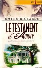 Le testament d'Aurore par Richards