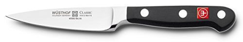 Wusthof WU4066/09 CLASSIC Paring Knife, One Size, Black, Stainless Steel