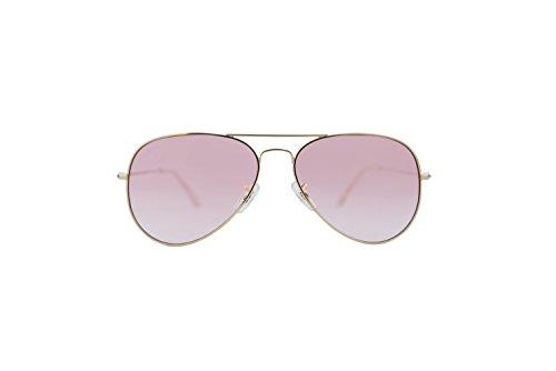 Buckler Sunglasses Fashion Polarized UV Protection Mirrored Lens Metal Frame John Lennon - Sunglasses Buckler