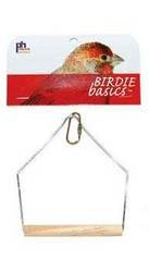 Prevue Pet Products Birdie Basics 3X4 Inch Birch And Wire Sw
