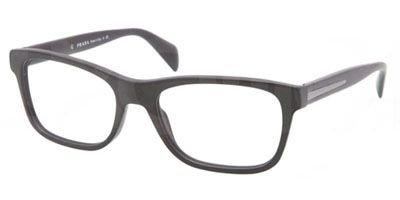 Prada PR19PV Eyeglasses-1BO/1O1 Matte - Glasses Prada Black Matte