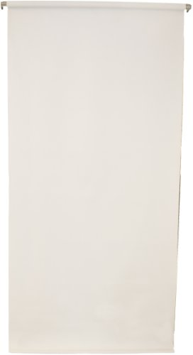 (2.5'X5' Wall-Mounted White Rollup Background System Perfect for Passport ID Photos)