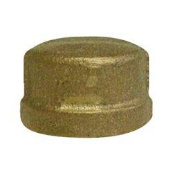 1/8'' Brass Cap