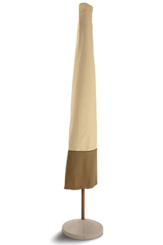 Classic Accessories Veranda Patio Umbrella Cover 78902, Pebble