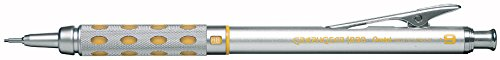 Pentel Graph Gear 1000 Automatic Drafting Pencil, 0.9mm, Yellow Accents, 1 Pencil (PG1019G)