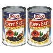 Solo Poppy Seed Cake & Pastry Filling (12.5 oz Cans) 2 Pack by Unknown ()