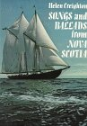 Songs and Ballads from Nova Scotia by Helen Creighton front cover