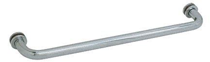 CRL Brushed Nickel Finish Single-Sided Regular Style 24