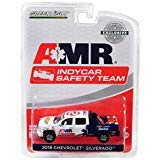 Greenlight 2018 Chevrolet Silverado Pickup Truck AMR IndyCar Safety Team with Safety Equipment in Truck Bed Hobby Exclusive 1/64 Diecast Model Car ()