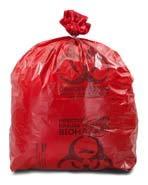 International Plastics - 8-10 Gallon Medical Waste Trash Bags - 3 Mil - 200/case - 200/Case (2 Cases)