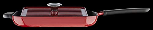 KitchenAid KCI10GPER Cast Iron Grill and Panini Press Cookware - Empire Red by KitchenAid (Image #1)