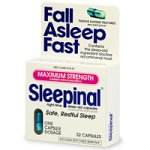 Sleepinal Night-Time Sleep Aid, Maximum Strength, Capsules, 32 ct.