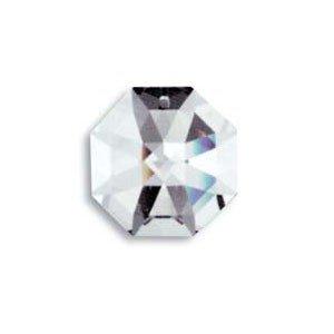- Swarovski 8115-50mm Lily Octagon Crystal Prism SunCatcher with Etched Logo