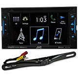 JVC KW-V130BT 6.2' 2-Din DVD Player Receiver w/Bluetooth...