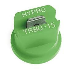 Package of 12 - Hypro Lurmark Total Range Flat Fan Spray Nozzle - 110 Degree - Light Green - 1.5 GPM - TR110-15