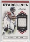 2012 Playoff Prestige Card - Michael Turner #/249 (Football Card) 2012 Playoff Prestige - Stars of the NFL - Materials [Memorabilia] #2