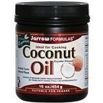 Jarrow Formulas, Coconut Oil, Expeller Pressed, 16 oz (454 g) (TRIPLE PACK)