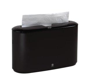 Tork Xpress Countertop Interfold Multifold Hand Towel Dispenser, Black