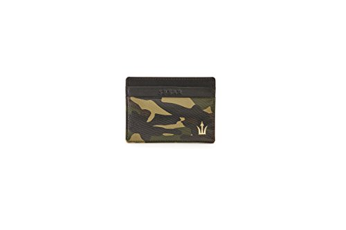 Spear Brands The Ambassador Camouflage Leather Cardholder (Without Key ()