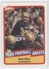 (Bart Starr (Football Card) 1989 Swell Football Greats - [Base] #101)