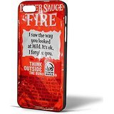 Taco Bell Sauce Fire Design for iPhone Case (iPhone 6s Black)