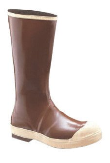 Honeywell N3822214-8 Servus by Size 8 Neoprene III Brown 15'' Neoprene and Latex Boots with Chevron Outsole and Steel Toe, English, 15.34 fl. oz. Volume, Plastic, 15 x 8 x 1 by Honeywell (Image #1)