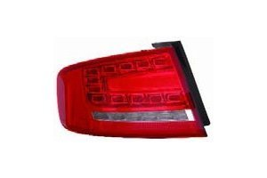 Outer Led Type (Audi A-4 Sedan / Wagon 09-12 Tail Light Assembly Outer LED Type LH USA Driver Side)
