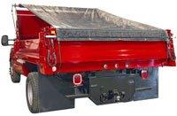 (TruckStar Dump Tarp Roller Kit - 7 1/2ft. x 20ft. Mesh Tarp, Model# DTR7520)