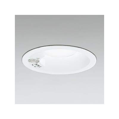 LEDダウンライト SB形 φ125 白熱灯60W形 拡散配光 非調光 人感センサ付 マットホワイト 電球色形 2700K B07RZP1YJG