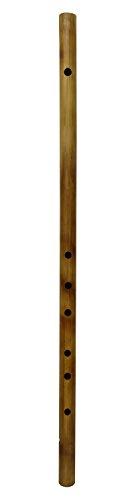 Traditionelle Musikinstrument Brown Handgefertigte Big Bambusflöte Bansuri Holz