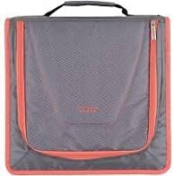 "Five Star 2"" Zipper Binder 530 Sheet Capacity Gray/Pink"