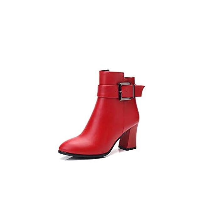 Scarpe E Borse Da Donna Sandali 1to9 Mns03385 Con Zeppa Donna Rosso red 35 Eu