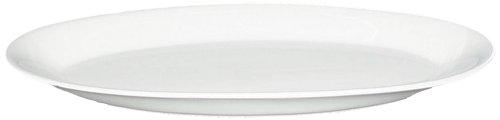 BIA Cordon Bleu 16-inch Oval Fish Serving Platter, White