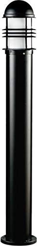 Dabmar Lighting D3200-B Powder Coated Cast Aluminum Bollard, Black by Dabmar Lighting (Image #1)