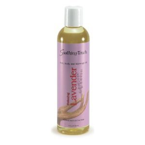 Soothing Touch Bath and Body Oil Lavender 8 oz, Health Care Stuffs