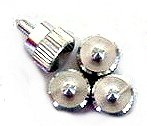 Lian Li Thumb Screws -- Silver (Sets of 4). by Lian Li
