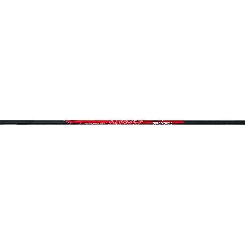 Black Eagle .001-Inch Tolerance Rampage Shafts (One Dozen), Black, 250