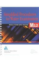 Simplified Procedures For Water Examination  Book And Elements Chart  Awwa Manual  M12   Awwa Manuals