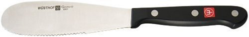 Wusthof 5'' Spreader Gourmet, Black