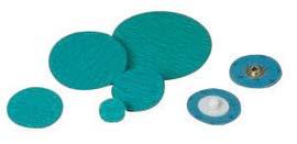 "Standard Abrasives 1 1/2"" X 2-Ply 80 Grit Zirconia Pro TS (Type II) Quick Change Sanding Disc 50/Box"