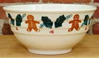 product image for Hartstone Pottery Gingerbread Three Rib large Mixing Bowl
