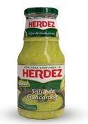 Herdez Salsa de Guacamole, 445g (Pack of 3)