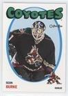 #10: Sean Burke (Hockey Card) 2001-02 O-Pee-Chee - [Base] - Heritage #56