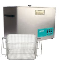 Crest Ultrasonic Cleaner with Mesh Basket-Digital Heat & Timer