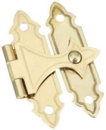 ZeniN Fasteners & Hardware Polished Brass Decorative Catch (Pack of 5)