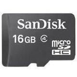 SanDisk 16 GB microSDHC Flash Memory Card SDSDQ-016G (Bulk Packaging) - Class 4 (Personal Computers)