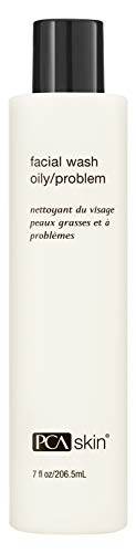 PCA SKIN Facial Wash Oily/Problem, Gentle Exfoliating Daily Cleanser for Breakout-Prone Skin, 7 fl. oz.