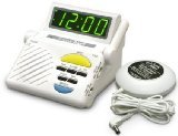 Sonic Alert SB1000SS Boom Alarm Clock with Bed Shaker (Sonic Alarm Clock Boom)