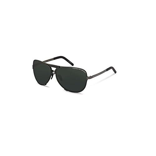 5a18dc98154c delicate Porsche Design Titanium Sunglasses P8678 A Dark Gun 67-11 - Unisex